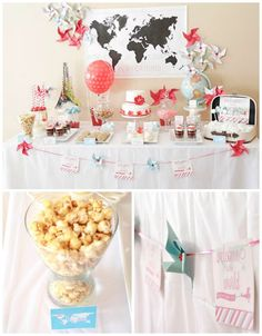Welcome To The World Baby Shower! Design and sweet table by Petits Plaisirs Chocolata Treats chocolata.ca