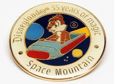 DISNEYLAND SPACE MOUNTAIN Pin ~ Space Mountain Pin ~ Disney Collector Pins ~ Disney Pins ~ Walt Disney Collector Pins ~ Disney Vintage Pins by REDSTONEVINTAGE on Etsy