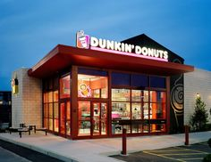 Dunkin' Donuts... besides Community Coffee... the best chain-store coffee around.