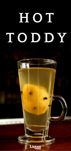 Brrrrr, is it cold out here? Great for a warming up for the night or when you're feeling under the weather, you can use any kind of #whiskey you like in this #hot and comforting classic Hot Toddy recipe.