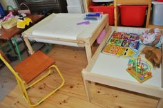 Change table into 2 useful tables for growing kids | IKEA Hackers Clever ideas and hacks for your IKEA