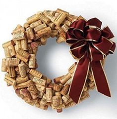How To: Create A Recycled Wine Cork Christmas Wreath…