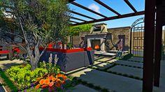 AMS Landscape Design Studios, Inc. Courtyard Renovation Concept