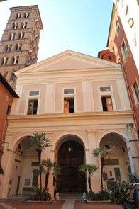Iglesia de San Silvestro en Capilla, Roma Italia.
