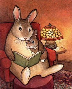 Kim Parkhurst  (b.1957)  —  Storytime Fairy Tale (827×1024)