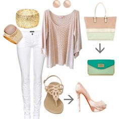 From day to night, created by nicole-c-delnegro on Polyvore