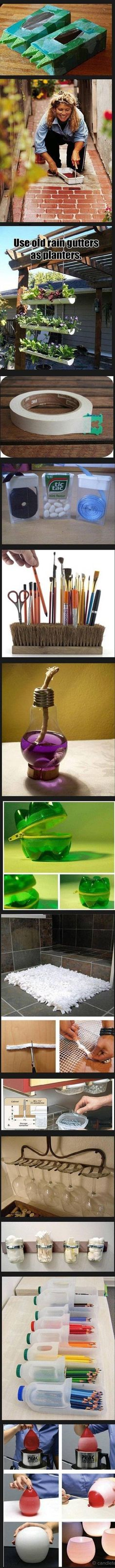 diy - Every single one of these ideas are SICK! So inventive, so creative, so DIY!