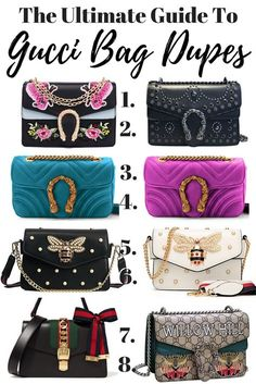 3285b043d80f The Best Gucci Bag Dupes - The Only Guide You Will Need