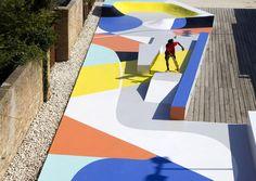 Skatepark by GUE for Subsidenze Ravenna 2017 - 谷德设计网