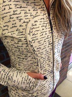 lululemon manifesto script writing ghost white scuba hoodie