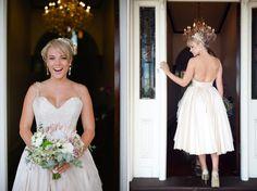 Lovely hair ! Spring Bridal Inspiration With Elizabeth De Varga