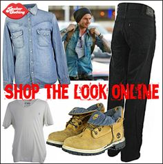 b2967b872628e2 Celebrity Style - Recreate the David Beckham look from Pucker Clothing. Tommy  Hilfiger Men s Denim