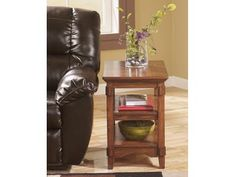 Ashley Furniture Signature Design Cross Island Rustic Oak Chair Side End Table Medium Brown -- For more information, visit image link. (This is an affiliate link) Chair Side Table, End Tables, Occasional Tables, Oak Table, Console Tables, Coffee Tables, Living Room Furniture, Home Furniture, Living Rooms