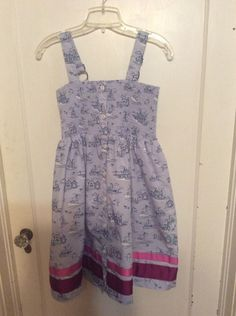 NEW Matilda Jane Boardwalk Dress Girls sz 12 Wonderful Parade Periwinkle Blue  | eBay