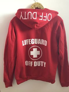 Lifeguard off Duty - Zip Up Hoodie - Ruffles with Love