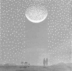 moon full of stars by gorgeous