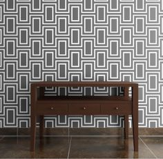 """Doheny wallpaper - Love this Jeff Lewis (from Bravo's """"Flipping Out"""") wallpaper. Maybe for the guest bedroom?"""