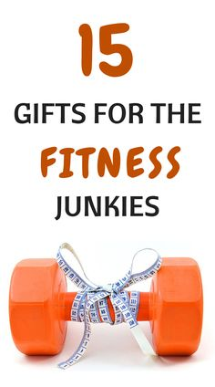 Perfect Gifts for the Fitness Junkie I love so many of these! Minus zumba stuff and push up press