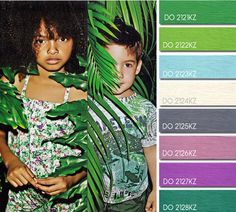 Spring Summer 2014, children's color trend report, Nature Lovers color board