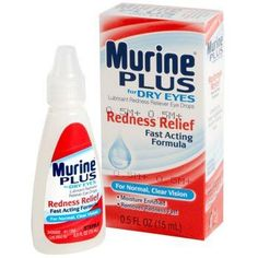 Murine Plus Redness Relief Eye Drops
