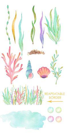 'Heart of the Sea' iPhone Case by KellyCutsPaper Animals Watercolor, Watercolor Ocean, Watercolor Paintings, Watercolor Jellyfish, Watercolor Basic, Watercolor Books, Watercolors, Jellyfish Painting, Aquarell Tattoo