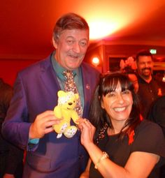 The Wonderful Stephen Fry with Irene Strank! CHILDREN IN NEED 2013!