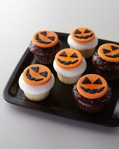 Halloween Cupcakes at Horchow.