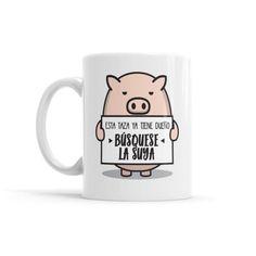 Tea Quotes Funny, Funny Mugs, Coffee Drinks, Coffee Mugs, Mini Pigs, Diy Tumblers, Cute Cups, Mug Printing, Cool Mugs