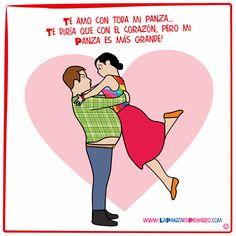 Ese es amor del bueno! #ActitudPanza #LaPanzaesPrimero #CocinaMexMex #PanzaCupido www.lapanzaesprimero.com