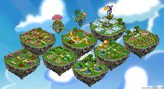 DragonVale Island layout
