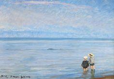 P.S. Krøyer: Evening on Skagen Beach