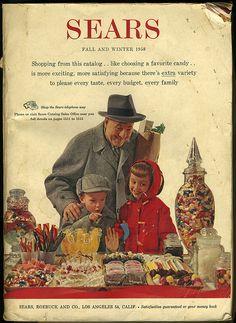 Sears Catalog 1958 Vintage Christmas ad Z Retro Ads, Vintage Advertisements, Vintage Ads, Vintage Photos, Vintage Stores, Vintage Santas, Vintage Ornaments, Vintage Photographs, Vintage Clothing