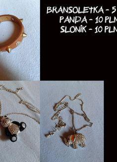 Kup mój przedmiot na #vintedpl http://www.vinted.pl/akcesoria/bizuteria/10073146-panda-slonik-bransoletka-posrebrzane-srebro