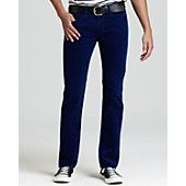 AG Jeans - Slim Straight Fit Cords in Lapis