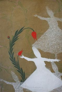 EBRU SANATI Ebru Art, Whirling Dervish, Marble Art, Paper, Painting, Painting Art, Paintings