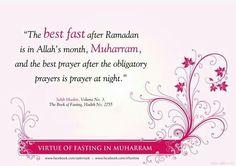 Fasting in #Muharram  {http://www.PureMatrimony.com/}