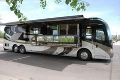 RV with patio