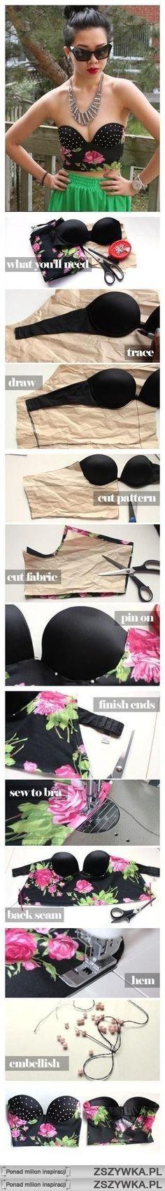 DIY - Top bandeau