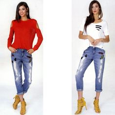 OSTRIT jeans strappato pop star  Taglia m  https://www.lorcastyle.it