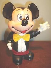11 Quot Vintage Walt Disney World Illco Mickey Mouse Rubber