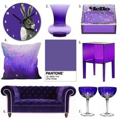 Add Ultra Violet into your home with my top home and interior picks. Pantone Colour Of The Year 2018