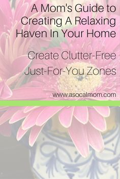 If you are a mom who is surrounded by chaos and clutter, use my tips to create small clutter-free relaxing zones. This will be a perfect mom self-care zone.