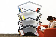 Lean Bookshelf by Monocomplex Photo