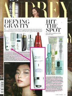 We love seeing our #ANEW Clinical Infinite Lift Serum pop up in Audrey Magazine's top 'Defying Gravity' serums. #ANEWyou