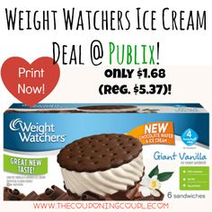 Be sure to print your coupons and pick up your ice cream this week! Weight Watchers Ice Cream Deal @ Publix ~ Only $1.68 (reg. $5.37)!  Click the link below to get all of the details ► http://www.thecouponingcouple.com/weight-watchers-ice-cream-deal-publix-only-1-68-reg-5-37/ #Coupons #Couponing #CouponCommunity  Visit us at http://www.thecouponingcouple.com for more great posts!