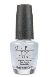 OPI Nail Polish Top Coat NTT30 Nail Treatment by OPI. $6.45. top coate. Transparent coat to be applied over nail polish for incredible shine and gloss