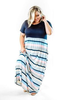 Looking for trending plus size looks? Lowest prices on curvy tops and plus size denim, curvy dresses and plus size dresses and curvy kimonos from the trendy curvy boutique that accepts afterpay! Plus Size Maxi Dresses, Modest Dresses, Modest Outfits, Plus Size Outfits, Casual Dresses, Summer Dresses, Modest Clothing, Curvy Outfits, Fashion Outfits