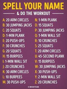 Name workout