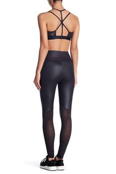 a8f3390131414 PUMA Power Shape Mesh Panel Tight Womens Workout Outfits