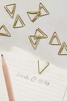 Folio Paper Clips - anthropologie.com